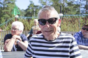 Anders Kristoffersson, Ljusneortens PRO, är på sin första Stenödag. Det kan nog hända att han kommer tillbaka.