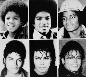 Michael Jacksons många ansikten. Stjärnan ändrade utseende flera gånger under karriären. Foto: AP/Scanpix arkiv