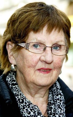 Astrid Johannesson, 80 år,Östersund:– Nej det gör jag inte. Jag har väl inget behov av det och sedan tror jag att det är lite dyrt också. Jag frågar väl andra, det gör jag nog.