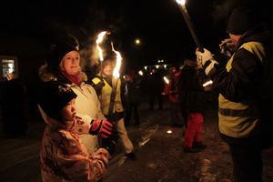 Maja Blomgren tycker om att fira nyår i Stocka med bland annat mamma Birgitta Nilsson Blomgren.
