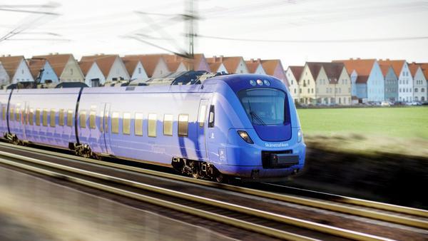 Tågtypen X61 trafikerar Skåne och kallas för Pågatågen.