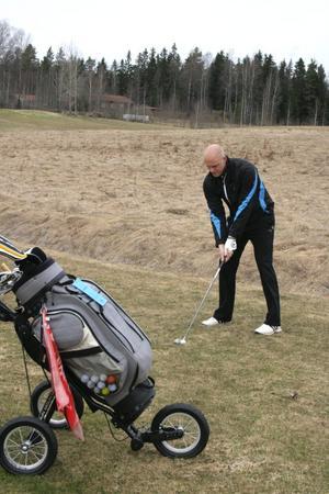 Nu blir det golf varenda helg in i oktober igen, säger Marcus Wiremalm.