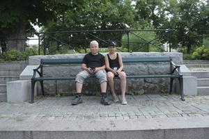 Adam Larsson och Kenny Gustavsson.FOTO: DAVID ERIKSSON