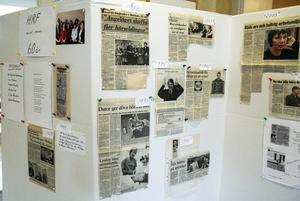 En liten utställning om föreningens verksamhet fanns också.