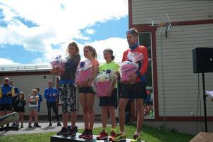 Jenny Arvisson, Wilma Lagerhäll, Jesper Granqvist, Anders Johansson var alla snabbast i dagens tävlingar i sina respektive klasser och distanser.