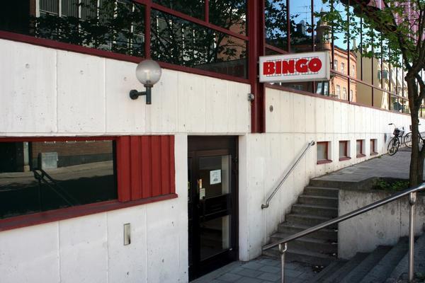 Bingohallen i Plushuset som den 25-årige mannen försökte råna. Han blev dock nerbrottad av personal och bingospelare. Nu har domen fallit.