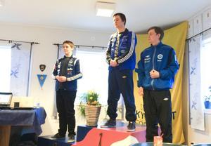 Carl Larsson tog SM-guld i falling target och till Thomas Friberg tog silver.