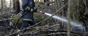 April är en högriskmånad för gräsbränder. FOTO: VLT ARKIV