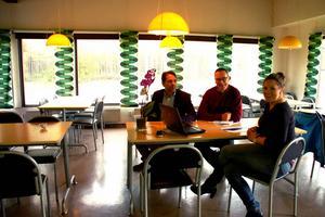 Restauranginredningen från 70-talet finns kvar i Orsa Kättings lokal.