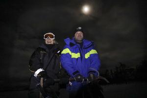 Draghundar i månljus