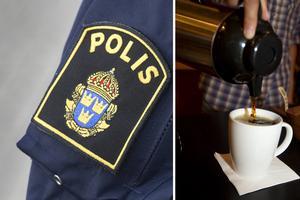 En polispatrull köpte på måndagsmorgonen frukost av en narkotikapåverkad kvinna. Nu är kvinnan misstänkt för ringa narkotikabrott.