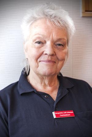 – Från början var systemet tänkt för att skapa trygghet så att man återhämtar sig och hinner hitta nya vägar för att bli frisk. Men gamla tanken i välfärdsmodellen är sönderskjuten, säger Margaretha Lööf Johanson .
