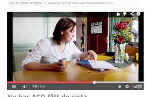 På Svenska skidskytteförbundets hemsida berättar Anna Carin Zidek med egna ord om hur hon tagit fram alla gamla dopningstest och även gjort ett nytt test av sina blodvärden som visar att det fortfarande är högt.