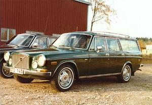 Under 1970-talet uppdaterade Sture Levin sin 165 i takt med Volvos årsmodellsförändringar. Här har stötfångaren fram.