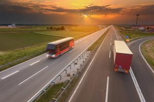 Rena transportsträckor slipper man för det mesta om man flyger till bussen.   Foto: Shutterstock.com