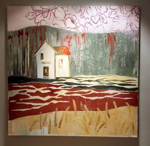 Torun Eliassons målning heter Lim-Johans hus.