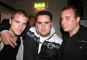 Blue Moon Bar. Ted, Andreas och Micke