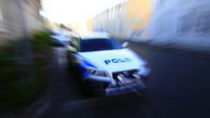En polispatrull skickades till fel ort på tisdagen.