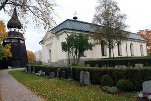 Den nuvarande kyrkan i Ovanåker byggdes 1744-1753.