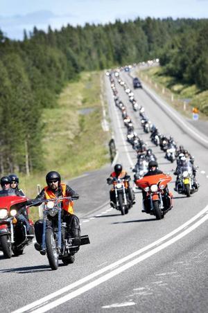 Sommaren 2010 samlades närmare 800 mc-åkare i Åre. De mest långväga kom då från Sicilien.