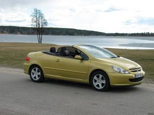 Peugeot 307 CC, femma med 240 sålda bilar.