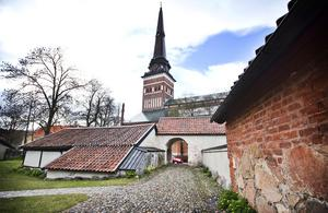 Proban som ligger vid Biskopsgatan i Västerås.