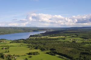 Utsikt från Hoverberget.