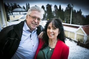 Ann-Cathrine Wiklander och Erik Lihm ska ut på en mindre turné i Ångermanland.