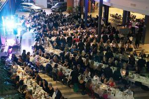 320 personer hade bänkat sig i Gavlerinken för att ta del av Ryttargalan.