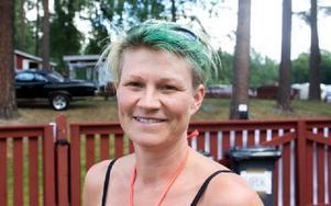 Madelene Dahlström, 39 år, Grycksbo– Det är trevligt. Det är bra för byn att det händer någonting. Foto: Sofie Lind