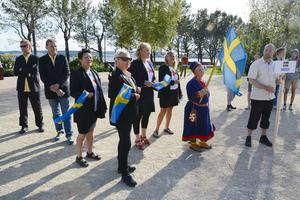 Svenska landslaget såg taggat ut.