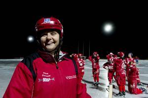 Tränare Ellen Persson.