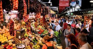 Besök Europas härligaste matmarknader.