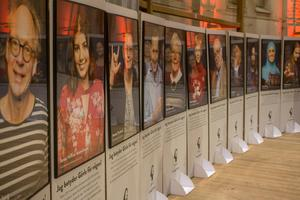 Kommuninvånarna har själva fått nominera de personer som visas upp i kampanjen