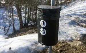 Det är inte kommunal verksamhet att hålla med hundbajspåsar, anser samhällsbyggnadsutskottet i Härjedalens kommun.