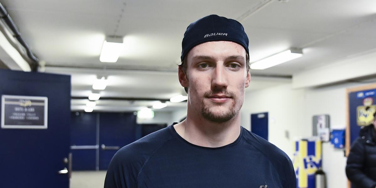 David Gustafsson nära spel i Sverige – men inte i HV71