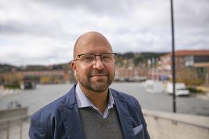 Robert Pettersson, centrumledare Etour.