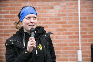 Hanna Boremyr, arrangör av Omtankeloppet, under tävlingarna 2016.