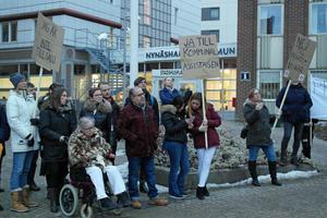 Kommunal är kritiskt till förslaget att upphandla den personliga assistansen i Nynäshamns kommun.