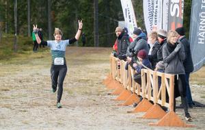 Johanna Bygdell från Öbacka LK blev tvåa i damklassen.