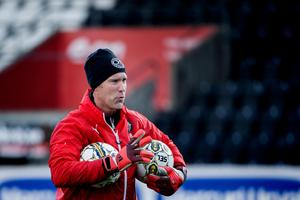 Jonas Bohlin fanns på plats under ÖSK:s första träning på försäsongen 2018. Han tar över Robert Axelssons gamla roll som målvaktstränare.