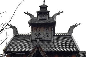 Drakar syns bland annat på Gol stavkyrka och kan ses på Norsk folkemuseum i Olso.
