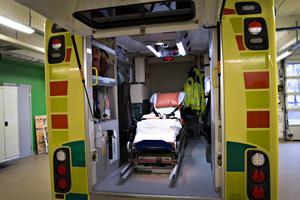 Kommunals sektionsordförande kräver rättvisa förhållanden för sina medlemmar som arbetar inom ambulansverksamheten. Arkivbild