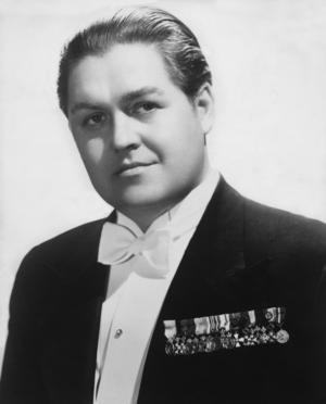 Jussi Björling föddes i Borlänge 1911 och dog 1960. Han jordfästes, det vill säga att begravningsgudstjänsten ägde rum, i Engelbrektskyrkan i Stockholm och begravdes senare vid Stora Tuna kyrka i Borlänge. Foto: SCANPIX
