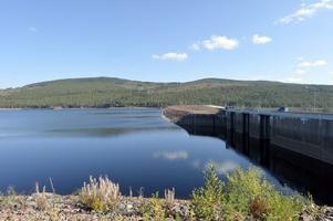 Normalt med vatten i Trängslet vid den här årstiden, här en bild från den 14 september 2014.