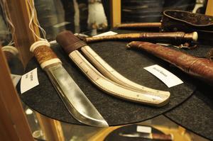 Knivar gjorda av Lisa Lyngman Gaelok.