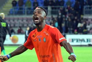 Mohamed Buya Turay, här i AFC Eskilstuna.