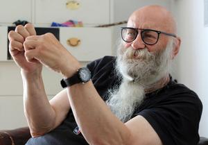 Anders Öhrn, teaterman, författare och tidigare ordförande i Sundsvall Dragons.