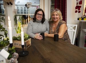 Linda Thiele och vännen Lotta Appelqvist från Örnsköldsvik har länge engagerat sig i LSS-frågan.