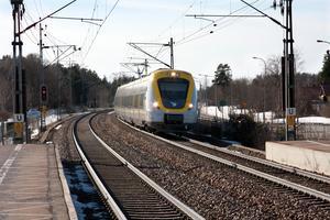 Kan en lokal pendel mellan Dingtuna och Tillberga ge utrymme för fler bostäder utanför centrala Västerås?Foto: VLT:s arkiv